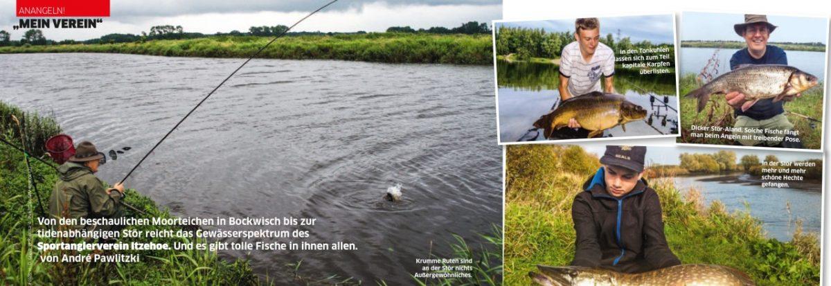 Beiträg über den SAV-Itzehoe in Anglermagazin